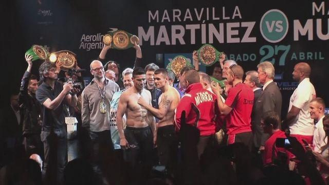 Hatton 'very confident' ahead of Martinez v Murray world title fight