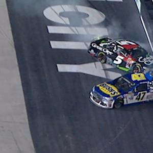 Kahne spins collecting Allmendinger