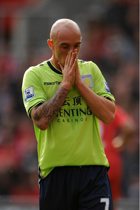 Stephen Ireland was hurt in the defeat to Southampton last weekend