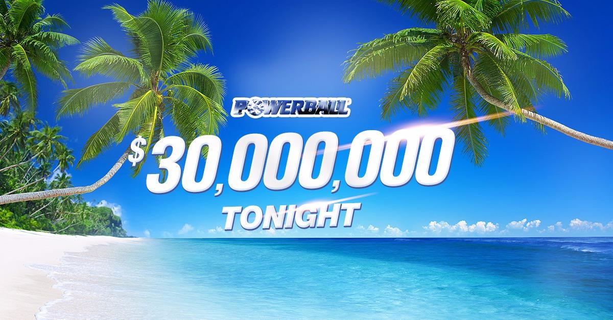 Are you in to win $30,000,000 Powerball?