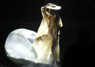 Lady Gaga performs at the 53rd annual Grammy Awards on Sunday, Feb. 13, 2011, in Los Angeles.