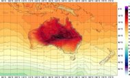 Weather Map Scale Changed Amid Australia Heat