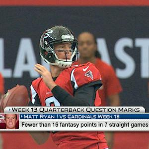 'NFL Fantasy Live': Quarterback question marks