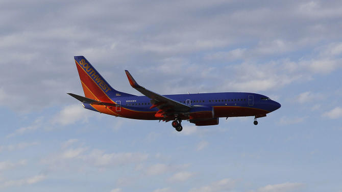 Southwest posts small profit after weak September