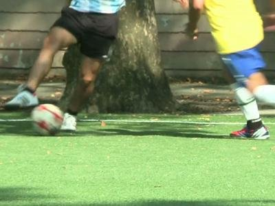 New Yorkers organize interim World Cup soccer 