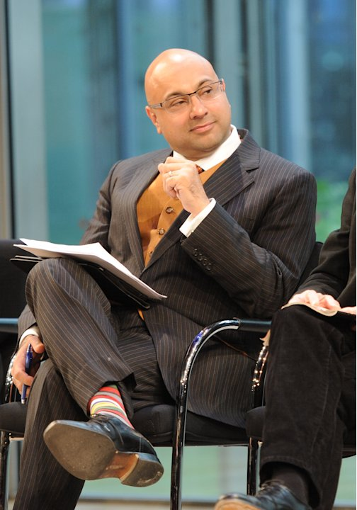 CNN chief business correspondent Ali Velshi attends the Food Dialogues: New York on Thursday, Nov. 15, 2012 in New York. (Photo by Evan Agostini/Invision for USFRA/AP Images)