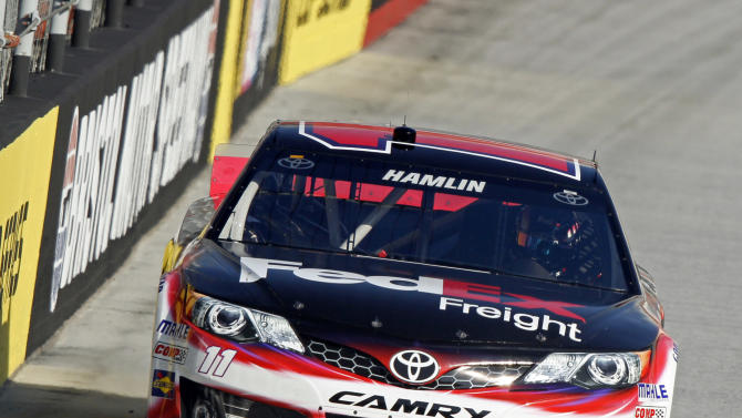 Hamlin learns to co-exist with Logano 1 year later