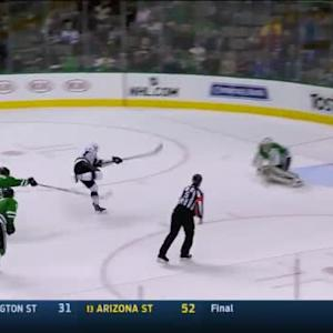 Kari Lehtonen Save on Tanner Pearson (18:23/1st)