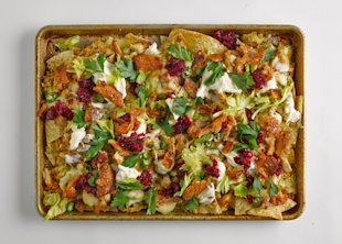 Thanksgiving Leftover Nachos