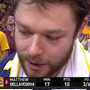 Matthew Dellavedova Postgame Interview