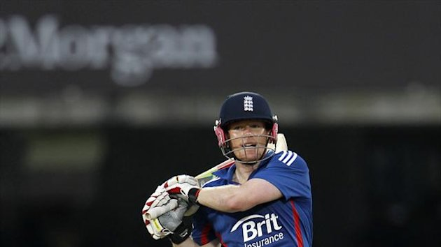 Eoin Morgan has shrugged off a back complaint