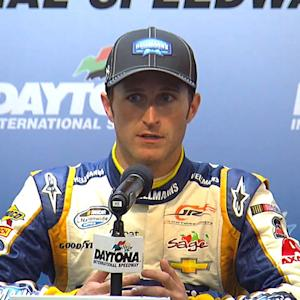 Kahne acknowledges help from Sieg for the win