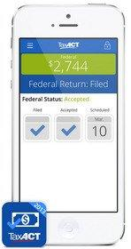 New TaxACT App, Tax Return Status, Tracks E-Filed Tax Returns, Federal Refunds and More