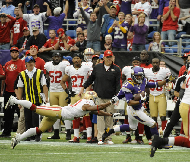 San Francisco 49ers v Minnesota Vikings