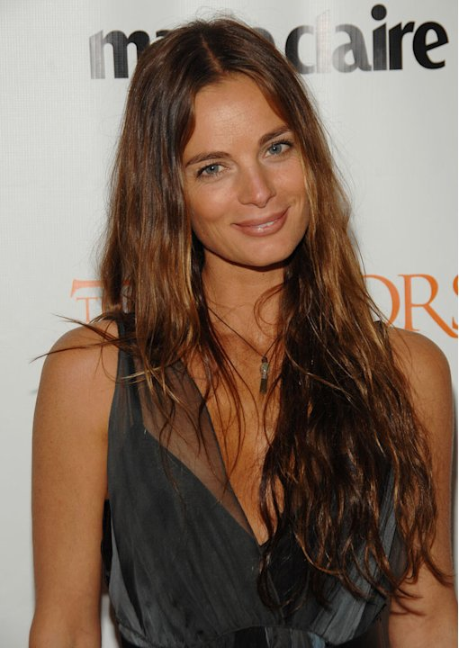Gabrielle Anwar at the NY Premiere of 'The Tudors' hosted by Showtime and Marie Claire. 