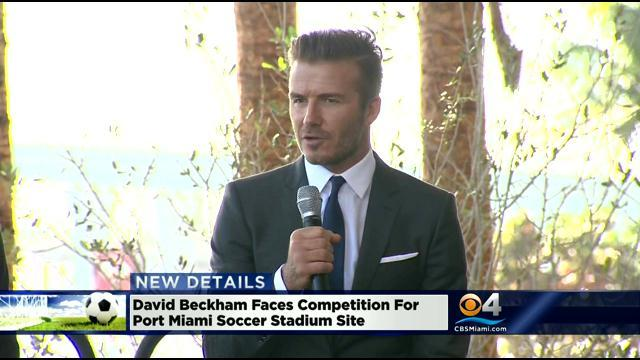 David Beckham Faces Competition For Port Miami Soccer Stadium Site