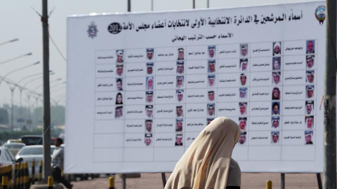 Divided Kuwait limps toward boycott-hit elections