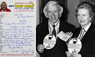 Jimmy Savile&#39;s &#39;Love&#39; For Margaret Thatcher
