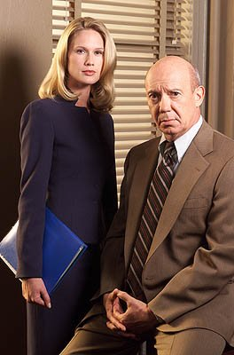 "Stephanie March as Assistant D.A. Alexandra Cabot and Dann Florek as Captain Donald Cragen NBC's""Law and Order: Special Victims Unit"" Law & Order: Special Victims Unit"