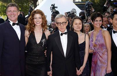 Treat Williams, Debra Messing, Woody Allen, Soon-Yi Previn and Tiffani Thiessen Hollywood Ending Premiere Cannes Film Festival - 5/15/2002
