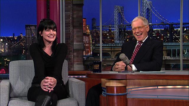 David Letterman - Pauley Perrette: Celebrity Grammy Tweeter