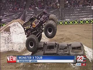 Monster X Tour Drives Through Bakersfield