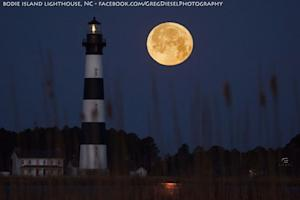 Spring's 1st Full Moon Tonight Is Early Easter Treat