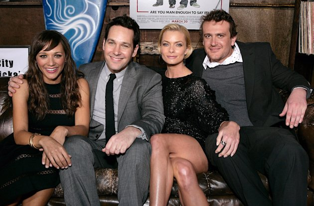 I Love You Man LA premiere 2009 Rashida Jones Paul Rudd Jaime Pressly Jason Segel