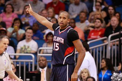 Al Horford dislocates finger in Game 1 against Nets