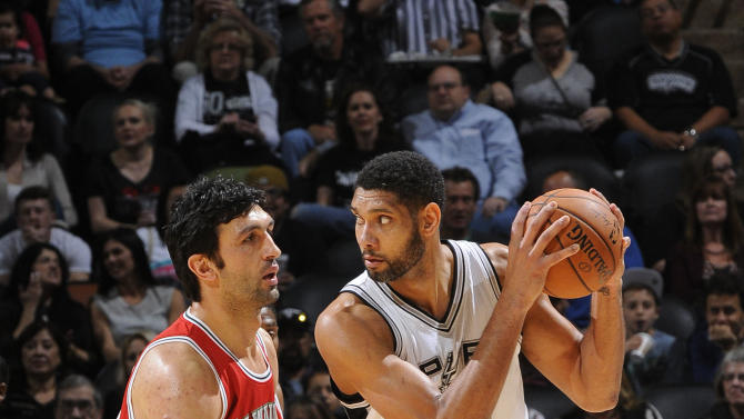 Spurs rally in 2nd half to top Bucks 101-95
