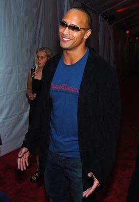 "Dwayne ""The Rock"" Johnson MTV Movie Awards - 6/5/2004"