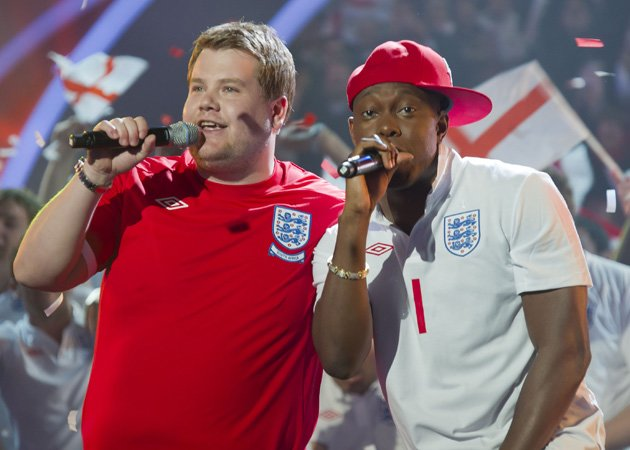 James Corden, Dizzee Rascal, Shout, Euro 2012