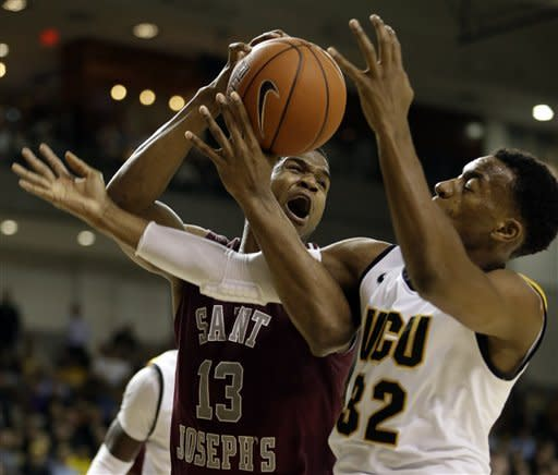 No. 22 VCU rallies to beat Saint Joseph's in OT