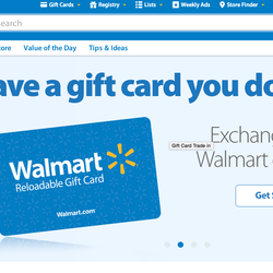 Walmart's New Site Allows Consumers To Exchange Unwanted Gift Cards For Walmarte-Cards