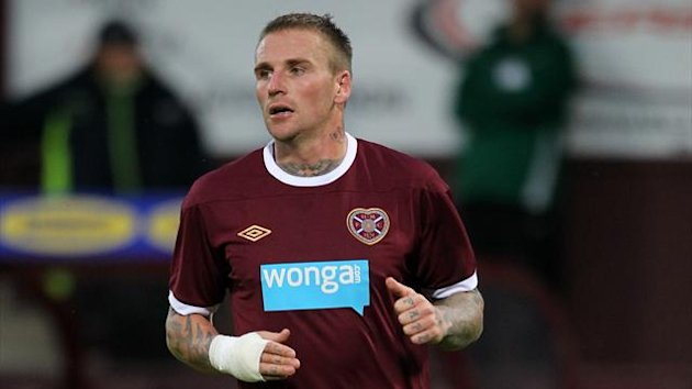 Ryan Stevenson of Hearts