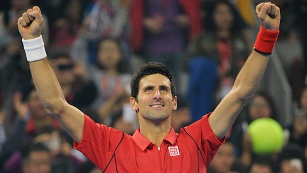 Novak Djokovic wins the China Open title (AFP)