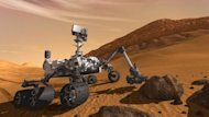 An artist&#39;s impression of the Mars Curiosity rover. NASA is counting down to the landing of its largest ever rover on Mars, where it will search for signs that life