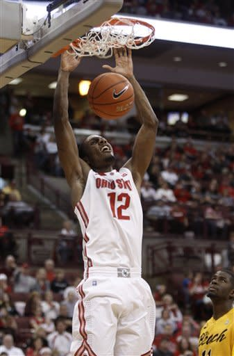 Thomas' 18 leads No. 7 Ohio State, 89-55