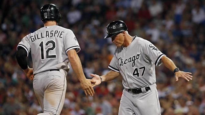 Gillaspie HR helps White Sox beat Red Sox 8-3