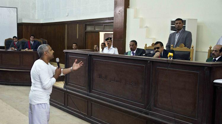 "Egypt judge: Al-Jazeera team did ""devil's"" work"