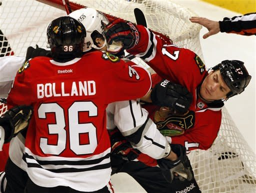 Blackhawks close in on season-opening points mark