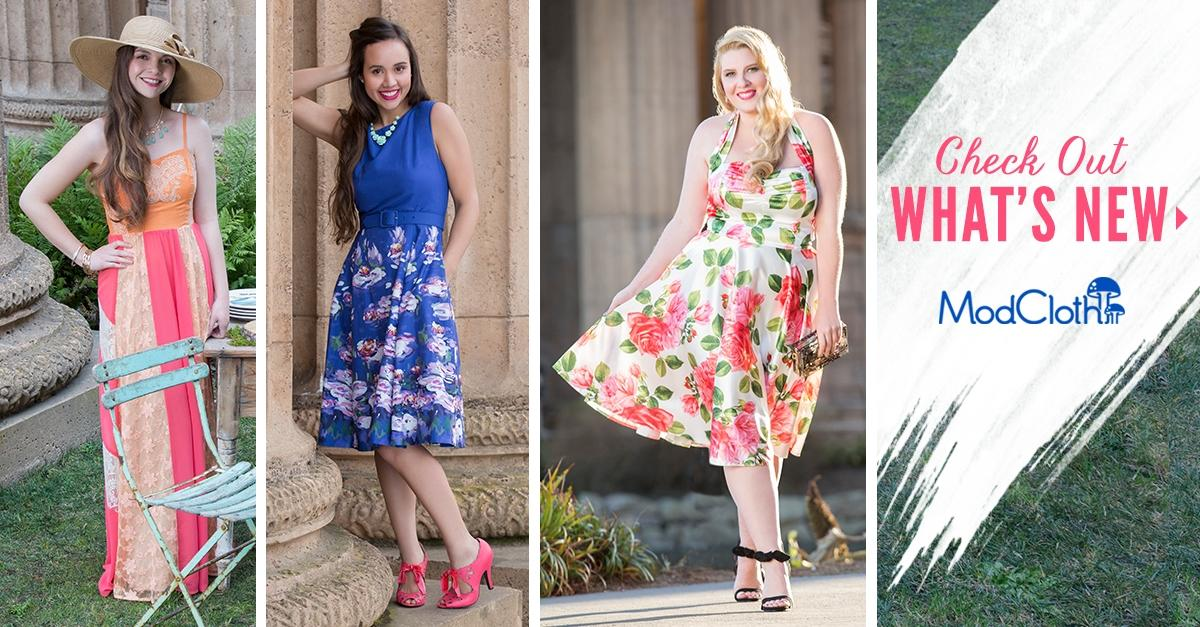 Shop This Season's Cutest Dresses at ModCloth