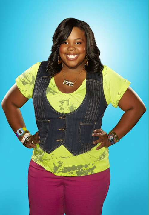 "Amber Riley returns as Mercedes in season 2 of ""Glee."""