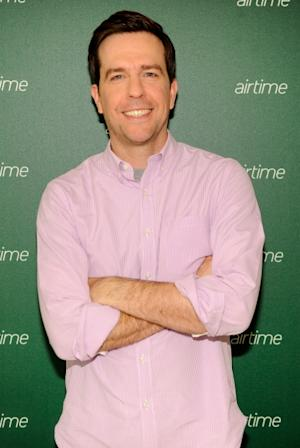 Ed Helms backstage at the Airtime Launch Press Conference at Milk Studios, New York City, on June 5th, 2012  -- Getty Premium