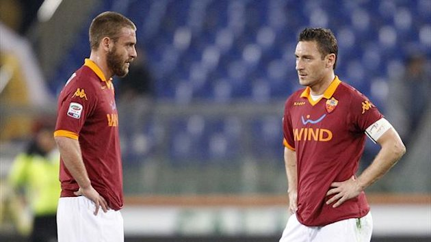 Daniele De Rossi and Francesco Totti (Reuters)