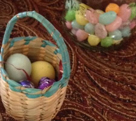 Put together an Easter basket