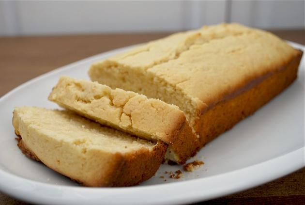 Lemon Ginger Quick Bread