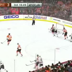 Steve Mason Save on Niklas Hjalmarsson (03:12/3rd)