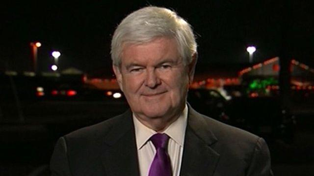 Gingrich on Obama: 'He's a hardline left-winger'