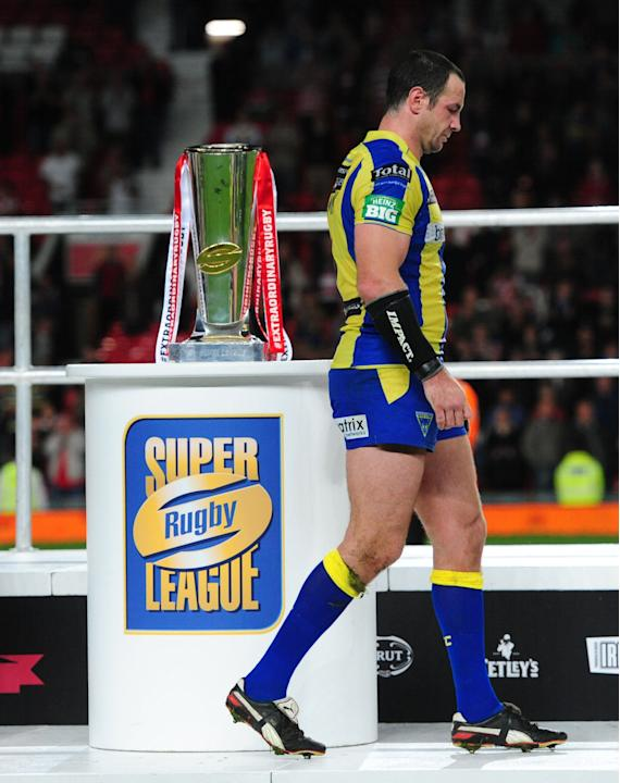 Rugby Union - Super League - Grand Final - Warrington Wolves v Wigan Warriors - Old Trafford